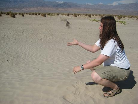 Florian im Death Valley