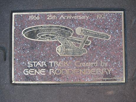 Star Trek vor dem Mann's Chinese Theatre