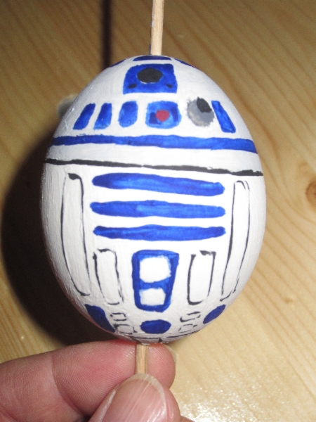 Star Wars Easter Egg R2D2