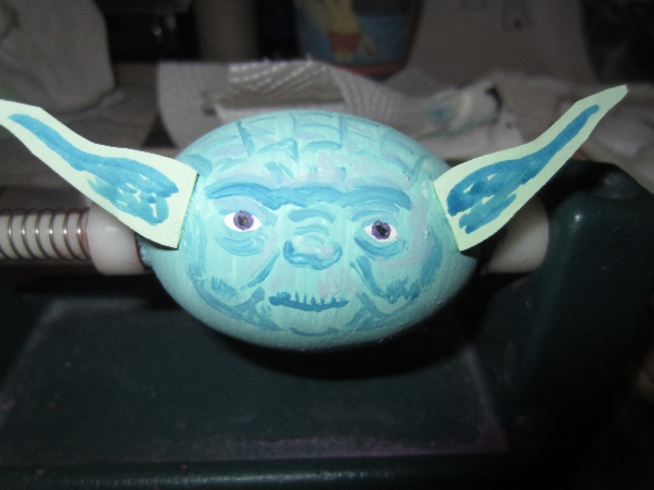 Star Wars Easter Egg Yoda