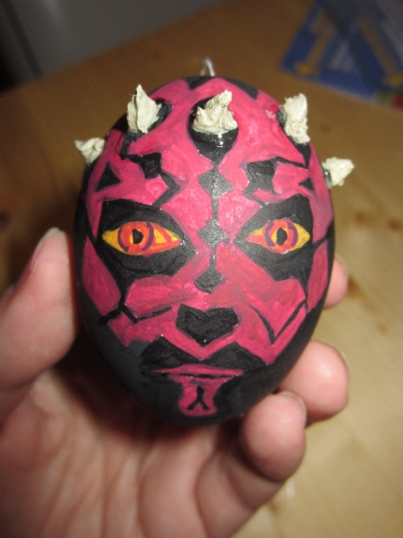 Star Wars Easter Egg Darth Maul