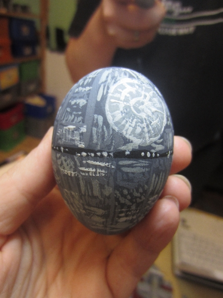 Star Wars Easter Egg Death Star