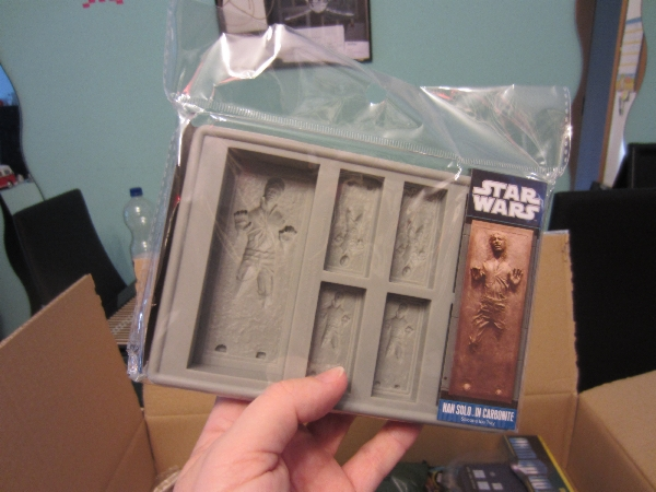 Han Solo in Carbonite Eiswürfelform