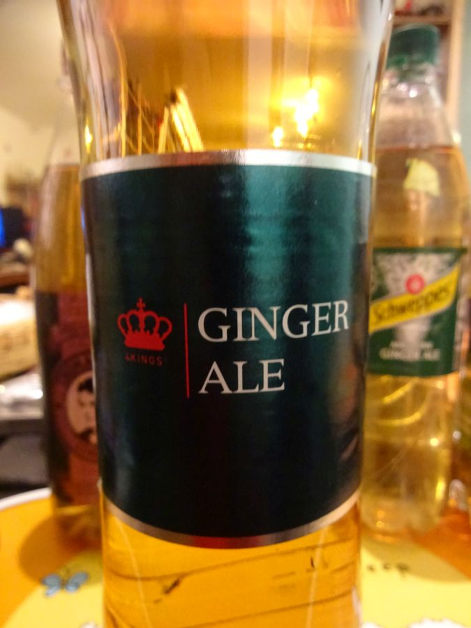 Four Kings Ginger Ale